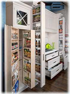 An Intricate Cupboard - Awesome Alternatives for a Pantry