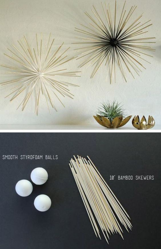 Monochrome Stars - DIY Wall Decor Ideas