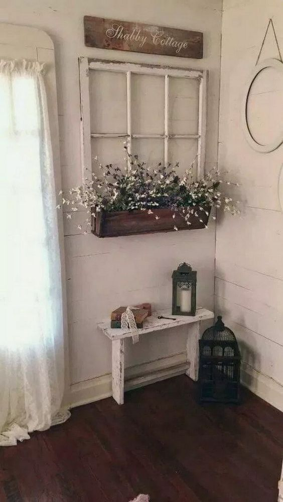 Traditional and Rustic - Homemade Wall Decoration Ideas