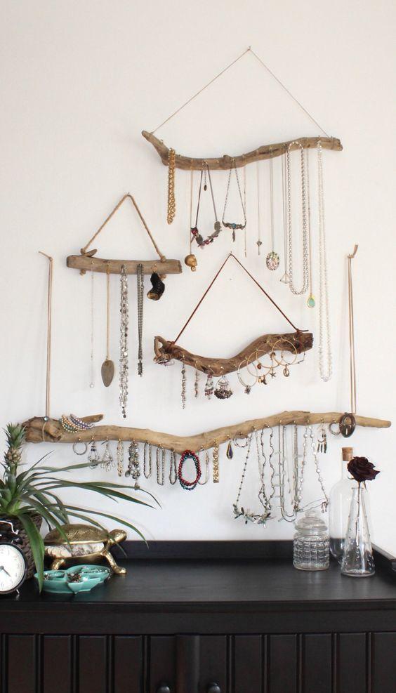 Reinvent Driftwood - Handmade Jewellery Organizers