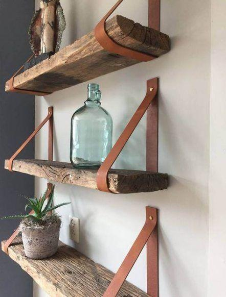 Wall Shelf Ideas - Homemade Wall Decoration Ideas