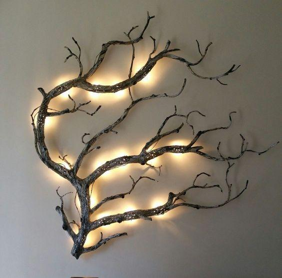 Light Up Your Home - A Tree Branch