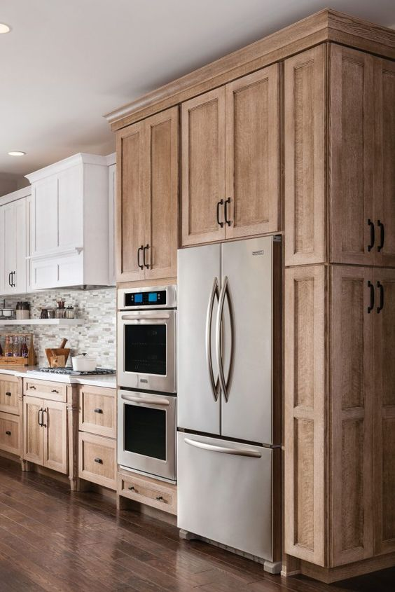 Wonderful in Wood - Kitchen Cabinet Design Ideas