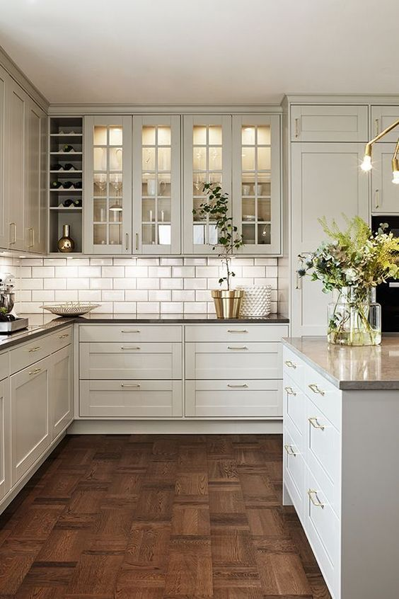 Cabinets and an Island – Kitchen Cabinet Storage Ideas