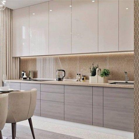 Pale and Refined – Kitchen Cabinet Design Ideas