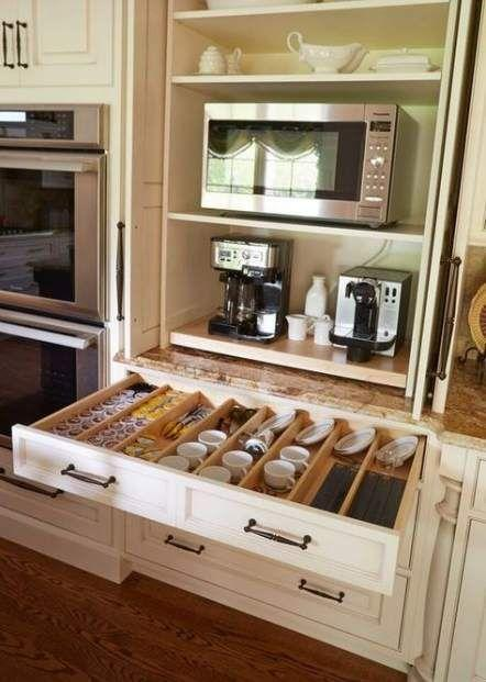 A Coffee Drawer - For Making the Best Coffee