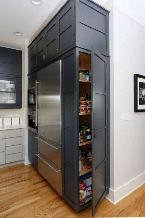 A Cabinet on the Side - Kitchen Cabinet Organization Ideas
