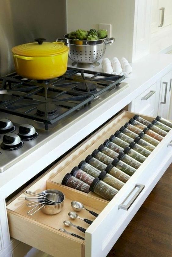 A Drawer of Spices - Underneath Your Stove
