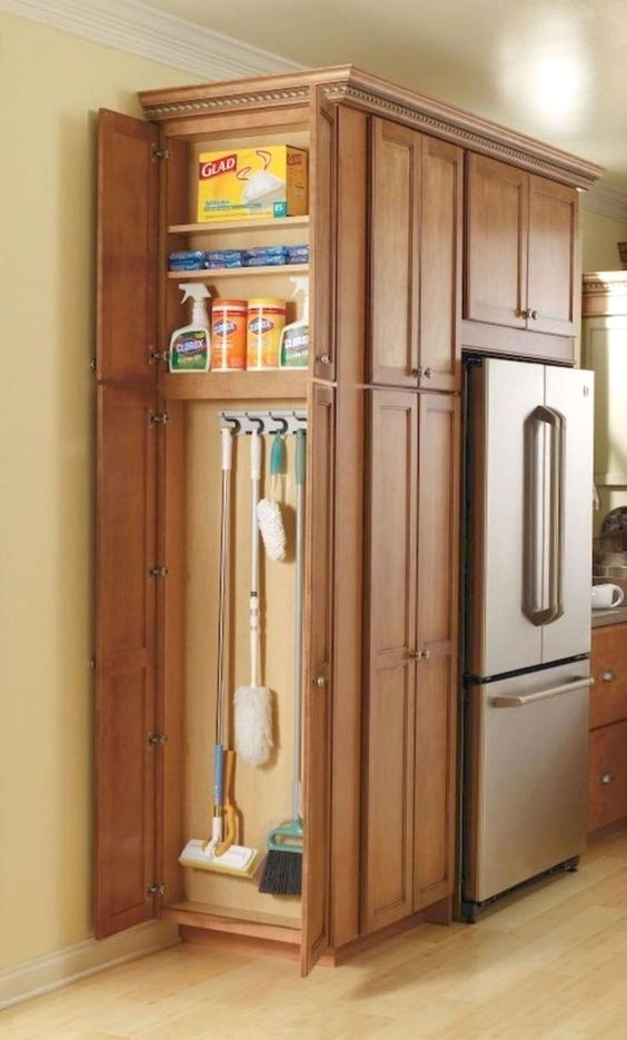 A Cupboard for Cleaning - Smart and Simple