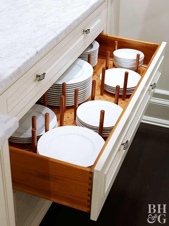 Safe for Ceramics - Organizing Your Plates