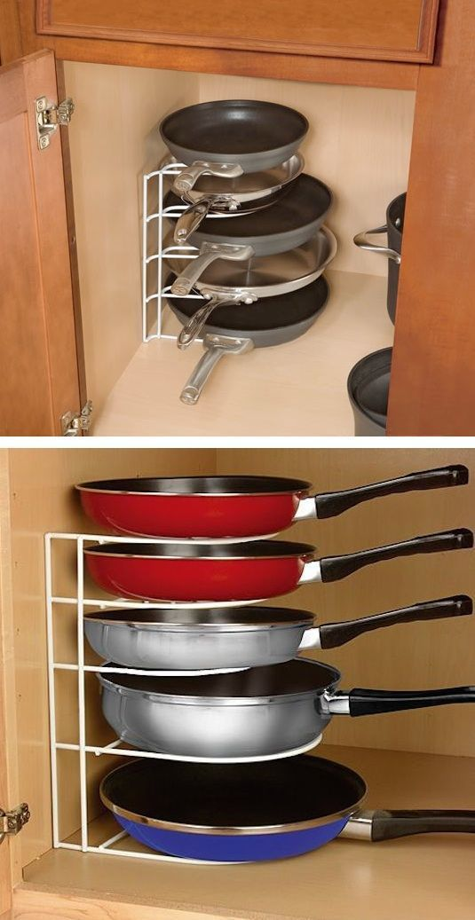 A Rack for Pans - Fantastic and Accessible