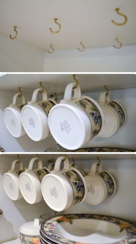 Nail Hooks - Perfect for Mugs