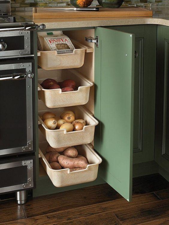 Simple Drawers - Kitchen Cabinet Storage Ideas