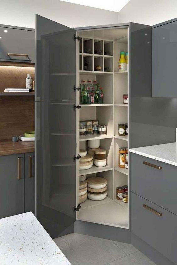 A Whole Pantry - Kitchen Cabinet Organization Ideas