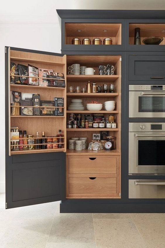 Find a Place for Everything - Kitchen Cabinet Storage Ideas