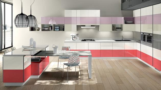White, Violet and Red - Innovative Choice of Colours