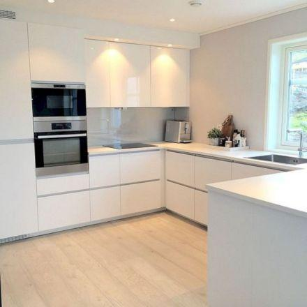 White and Bright - Modern Kitchen Cabinet Ideas