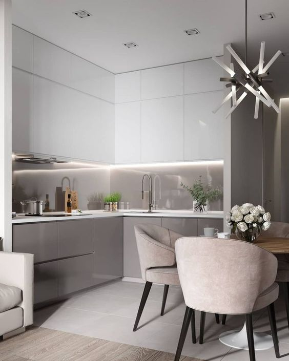 Add Lighting to the Cabinets – Modern Kitchen Cabinets
