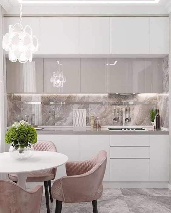 A Marble Accent - Elegant in White