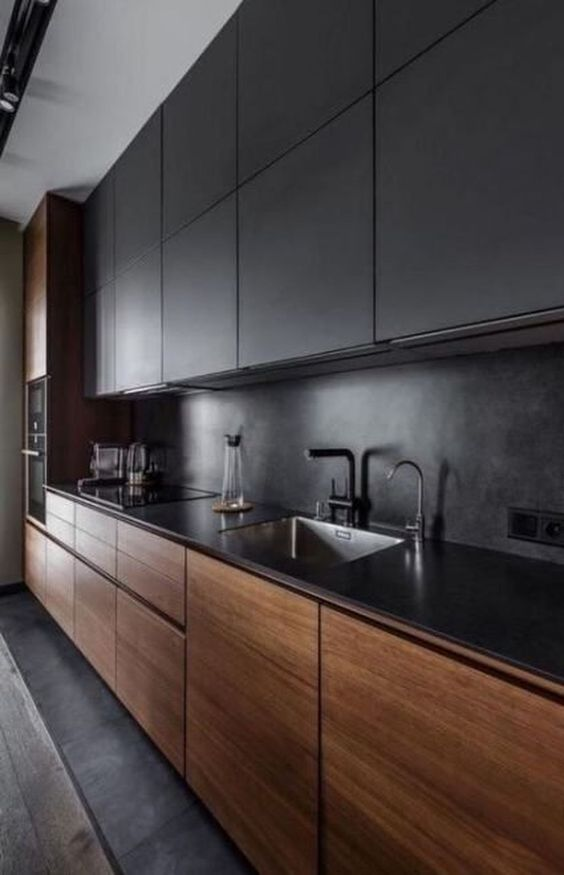 Unite Black and Wood - Refined and Classy