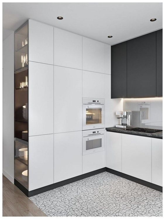 A Wall of Cabinets – Modern Kitchen Cabinets