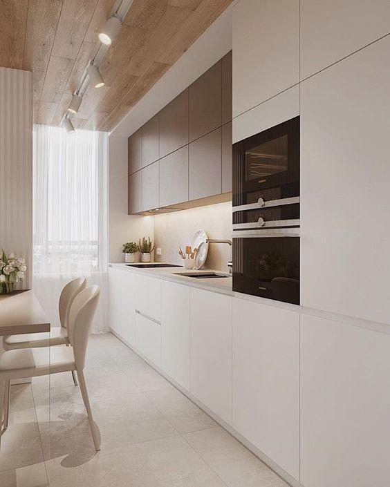 Stunning in White – Modern Kitchen Cabinet Ideas