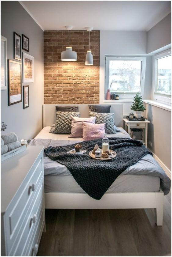 An Elegant Design - Small Bedroom Organization