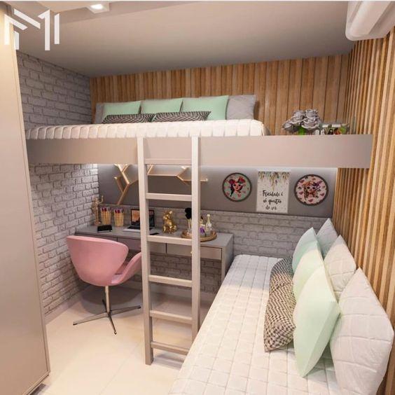 A Lovely Loft - Bricks and Wood