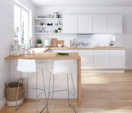 A Fresh Look - White and Wood
