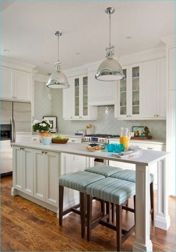 25 SMALL KITCHEN ISLAND WITH SEATING   Small Kitchen ...