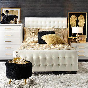 Lovely and Luxurious - Gold and Black