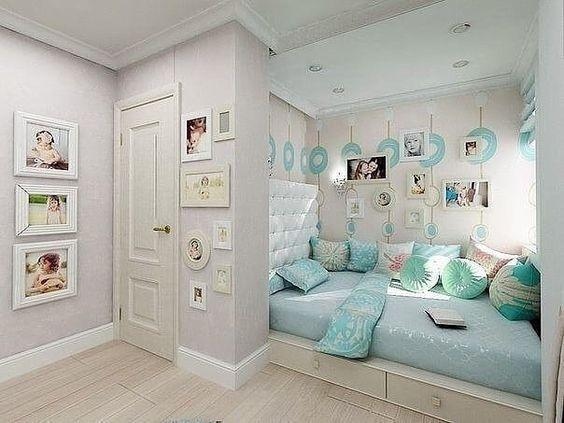 Brilliant in Blue - Teenage Bedroom Ideas for Small Rooms