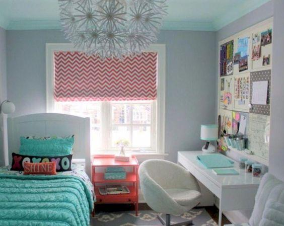 Cute and Bubbly - Teenage Bedroom Ideas for Small Rooms