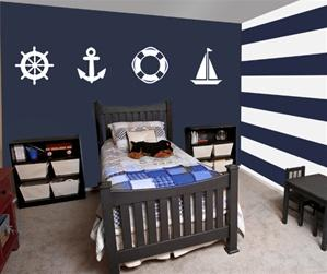 Sailor Wall Stickers - Easy and Simple