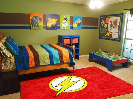 A Vibrant Atmosphere - Toddler Boy Room Ideas