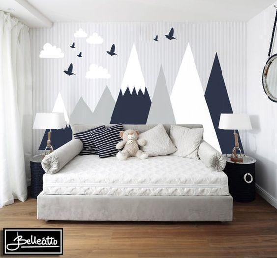 Majestic Mountains - Toddler Boy Room Ideas