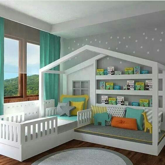 A Creative Bed – Toddler Boy Room Ideas