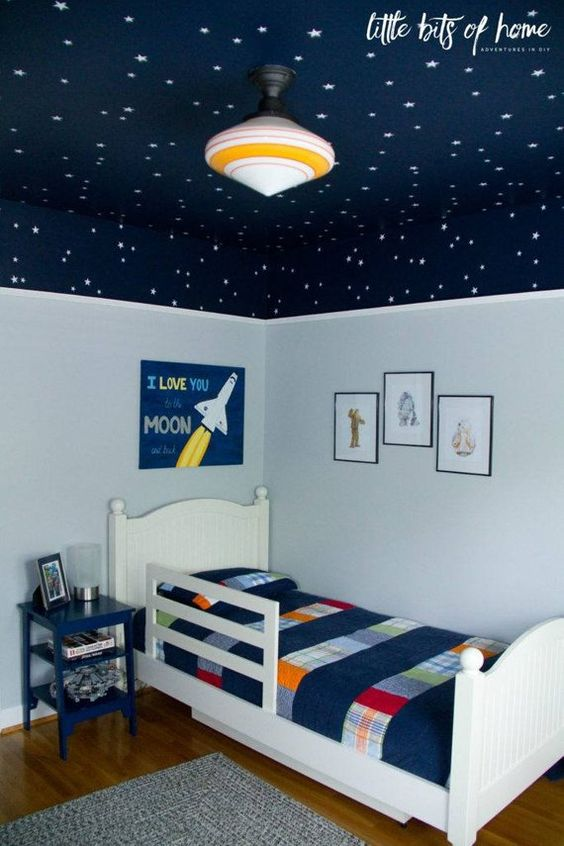 For an Astronaut – Cute Little Boy Room Ideas