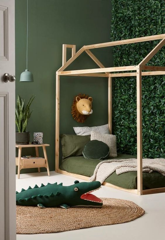 Fun in the Jungle – Toddler Boy Room Ideas