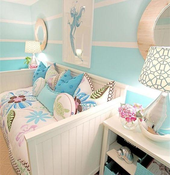 A Seaside Environment - Little Girl Bedroom Decor