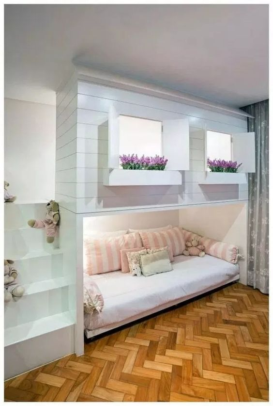 The Best Bunk Bed - Toddler Girl Bedroom Ideas on a Budget