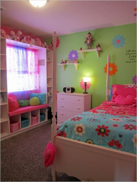 Filled with Colour - Toddler Girl Bedroom Ideas on a Budget
