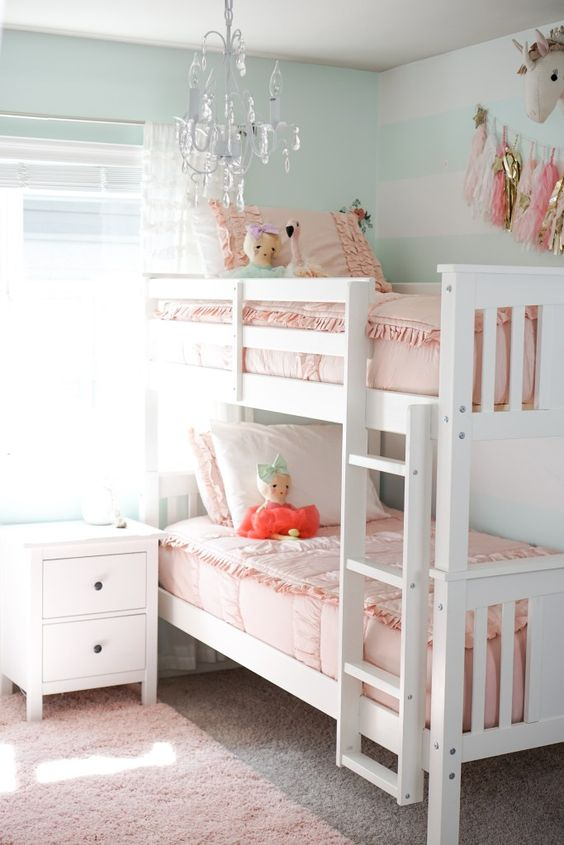 Sweet and Pretty - Toddler Girl Bedroom Ideas on a Budget