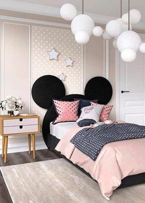 For Disney Fans - Toddler Girl Bedroom Ideas on a Budget