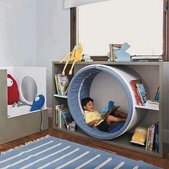 Nooks are Fantastic - Little Girl Bedroom Ideas for Small Rooms