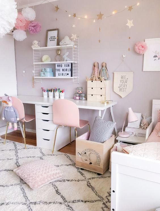 Woodland Environment - Little Girl Bedroom Ideas for Small Rooms