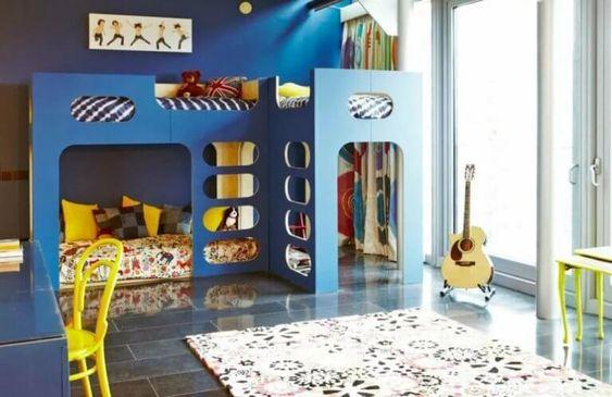 The Benefits of a Bunk Bed - Children Room Ideas