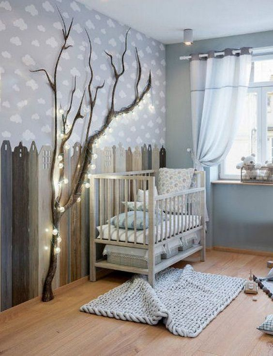 A Rustic Ambience - Little Girl Bedroom Ideas for Small Rooms
