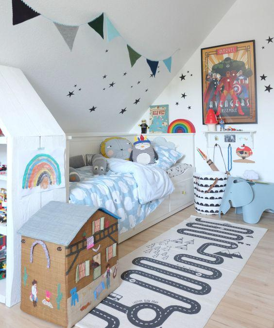 A Bubbly Interior - Little Girl Bedroom Ideas for Small Rooms