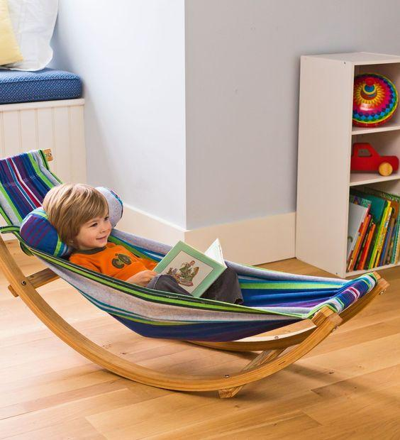 A Rocking Bed - Children Room Ideas